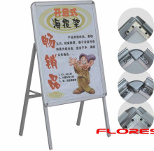 indoor promotion silver A1 advertsing A-Board stand