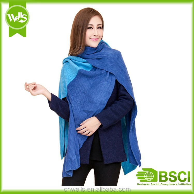 Bright color and light weight scarf