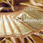 imitation gold leaf for gilding and decorating furniture frame ceiling from chinese manufacturing