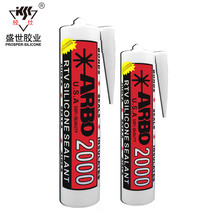 Transparent Acid Cure Heat Resistant Glass Silicone Sealant
