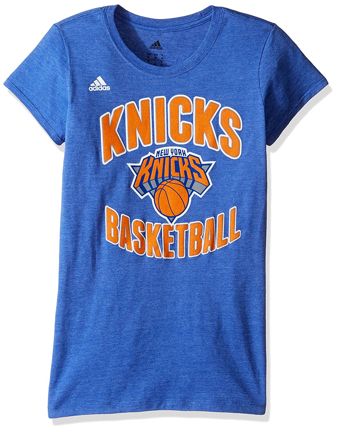 NBA New York Knicks Carmelo Anthony  7 Women s Basketball Graphic Cap  Sleeve Tee 2b4e3fa46