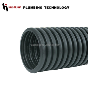 JH0597 dwc pipe corrugated hose 75mm corrugated pipe hdpe