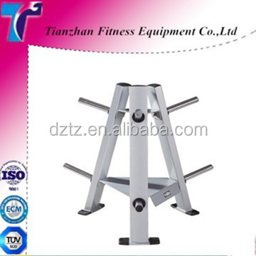 Gym Equipment Rack/Gym Accessories Weight Tree for Weight Plate