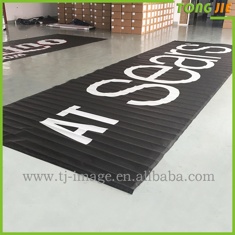mesh banner promotional flags cheap teardrop flag wing banner(TJ_07)