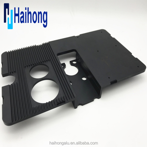 Black Anodize Finish CNC milling machine components
