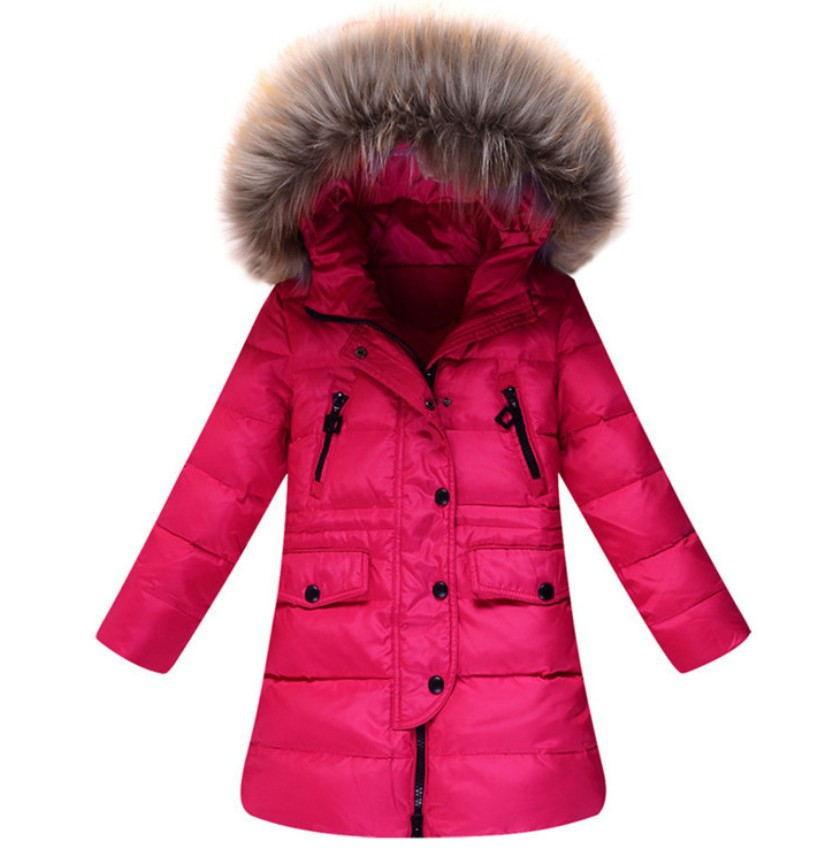 Children Winter Clothing Outdoor Girls Down Coat Fashion ...
