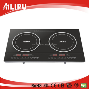Ailipu Sensor Touch 3200W Tabletop Double Induction Cooker/two burners electric induction hob SM-DIC02