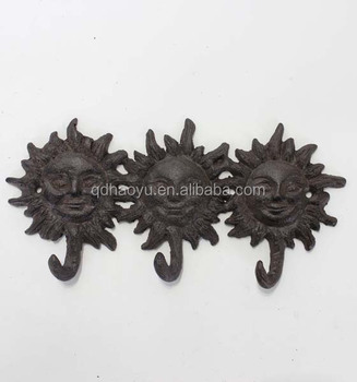 Home Decor Cast Iron Art And Handicrafts Vintage Key And Coat Hook