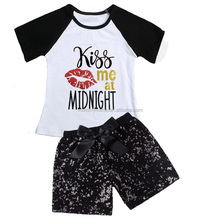 Embroideried my 1st Valentine's Day baby apparel,boutique kids clothes girls M5122003
