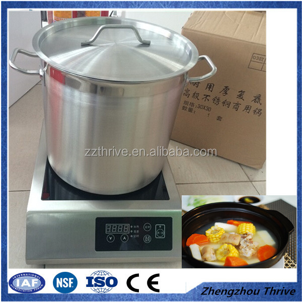 100L commercial stainless steel stock pot,house use stock pot