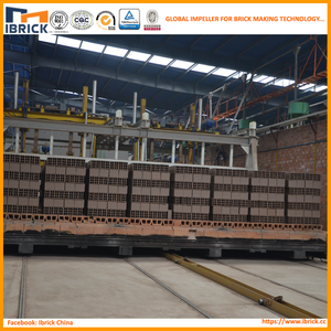 Professional manufacturer automatic clay brick tunnel kiln production line/clay roof tile kiln