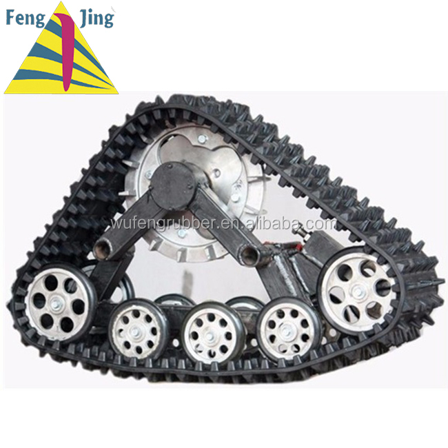 Rubber Crawler 4x4 vehicle ATV Rubber Track