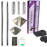Portable Dancing Pole Kit 45mm Stripper Home Pole Dance