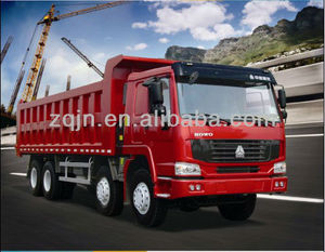 Hot Sale SINOTRUK HOWO 8x4 Dump Truck Tipper Truck 12 Wheeler/ Tipper 371hp/Loading 40 Tons Dump Trucks for Sale