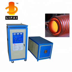 High frequency induction forging device inner pipe heating treatment machine