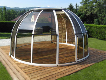 Hot Tub Cover Spa Dome Enclosure Buy Aluminum Hot Tub