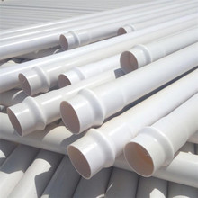 Chinese Supplier Plastic Rigid Large Diameter 100mm 150mm 200mm 400mm Water UPVC PVC Pipe Prices