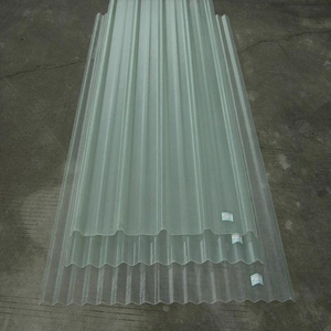 Clear Polycarbonate corrugated recycled plastic sheets suppliers
