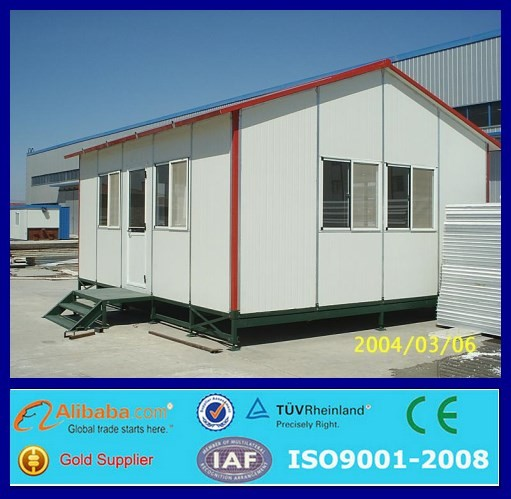 Prefab steel frame low cost house design cheap ready made for Cheap metal houses