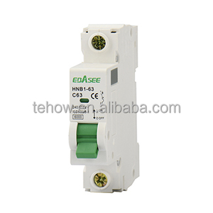 TEHOW HOT SELL 63A mini circuit breaker