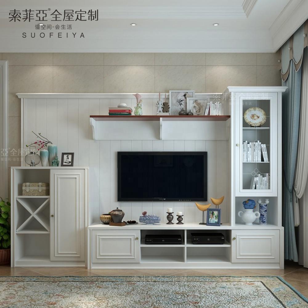 Custom Design Wooden Furniture Living Room Lcd Showcase Furniture Designs -  Buy Lcd Tv Furniture Designs,Lcd Tv Showcase Designs For Hall,Lcd Tv ...