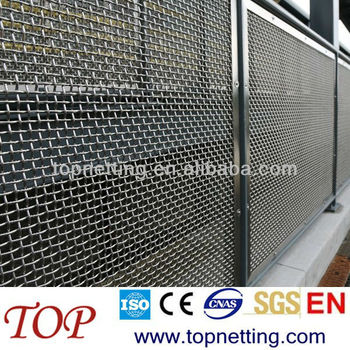 Woven Wire Fence Panels/ Wire Mesh Fence Panels - Buy Flexible Mesh ...