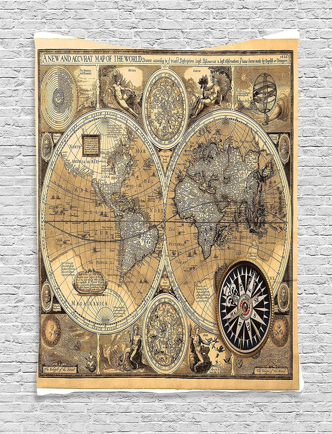 A New And Accvrat Map Of The World 1626.Buy World 1626 A New And Accvrat Map John Speed In Cheap Price On