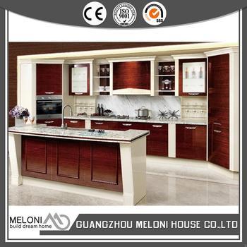 the most popular innovative wood veneer kitchen cabinet