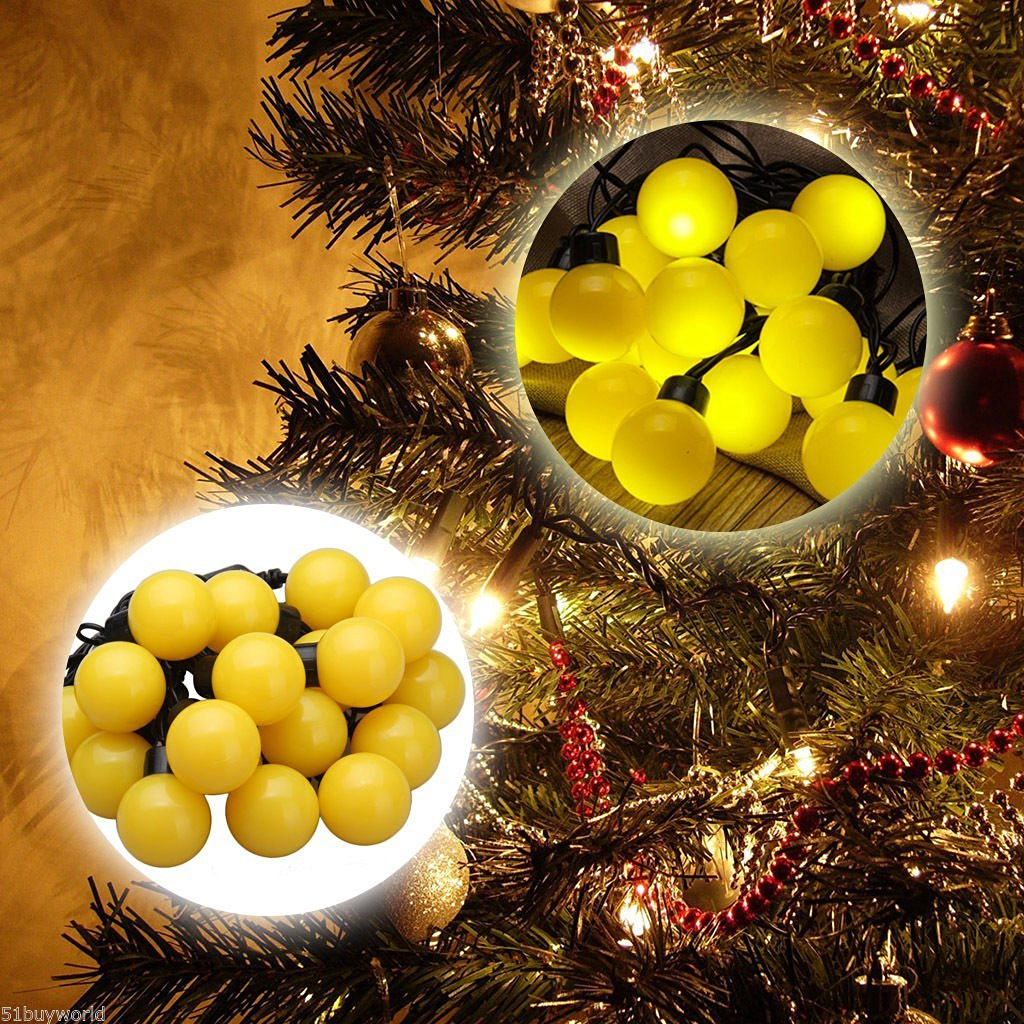 20 LED Ball Fairy String Lights ???????????? ???????? Christmas Party Decor Lamp ~ITEM #GH8 3H-J3/G8335869