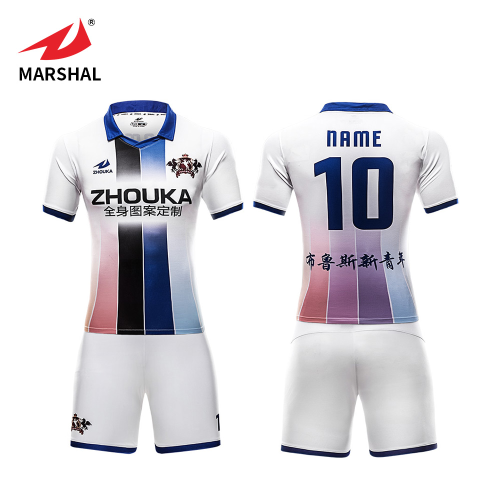 4eecaea82d2 OEM custom soccer jersey football team clothes breathable set football shirt  soccer uniform jersey