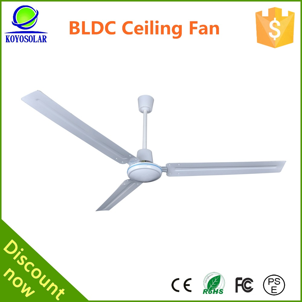 House Use Air Conditioning Bldc Motor 12v Dc Fan 28w 56inch Ceilng Solar Ceiling Fans