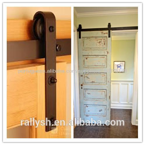 Puerta corredera alta calidad rural puerta de granero for Puertas de granero correderas