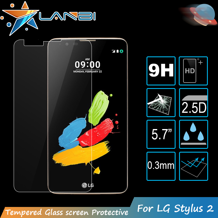 9h Smart Phone Magnetic Tempered glass screen protector For LG stylus