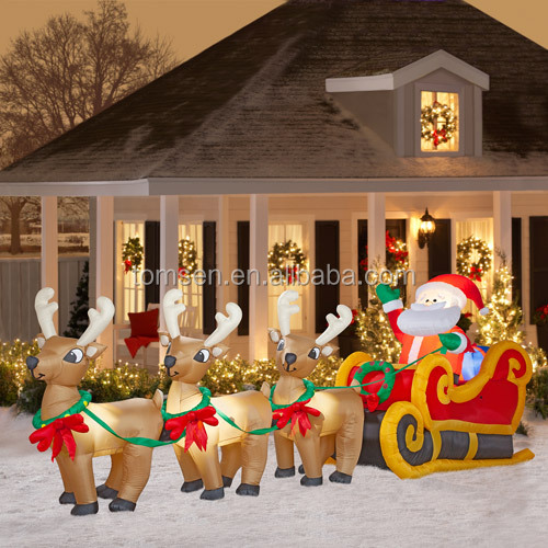 Cheap Inflatable Yard Decorations: Wholesale Outdoor Factory Directly Christmas Decoration