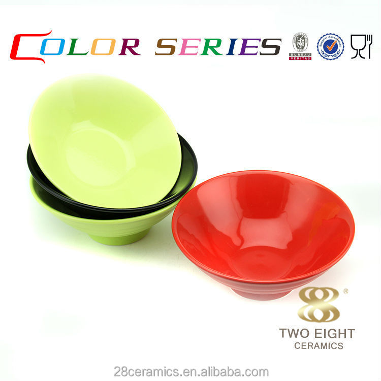 Wholesale guangzhou china table ware, color enamel bowl