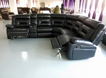 Corner Sofa Furniture Air Leather Motion Sectional Sofa