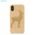 Hot Sale Laser Engraving Luxury Custom Design Wood Cellphone Case For iPhone X