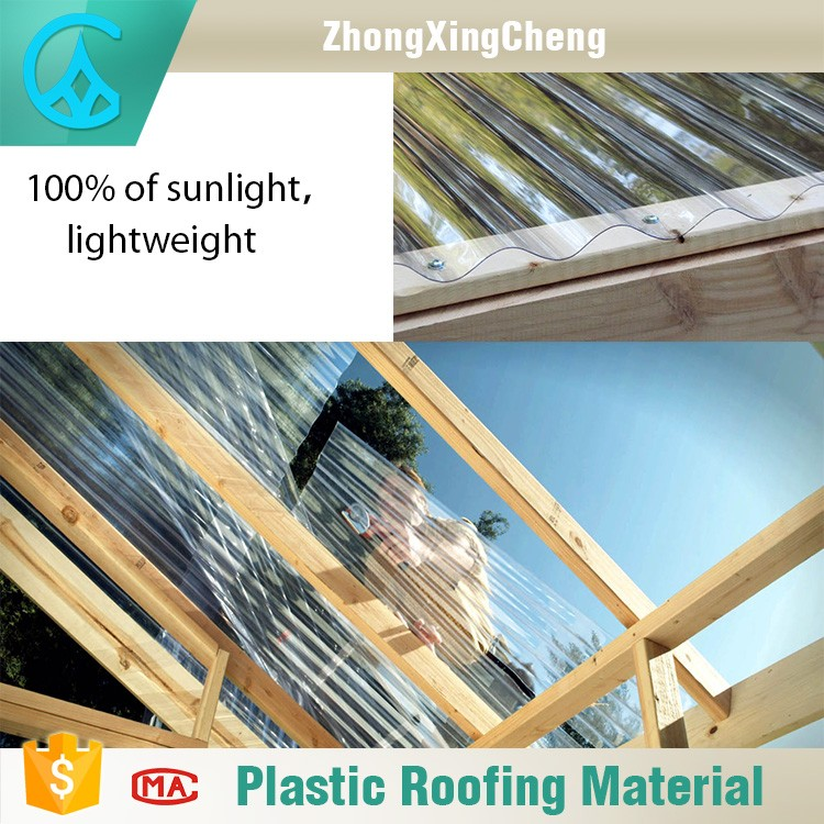 2017 new construction building material plastic raw for Plastic building materials