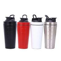 New Product 550ml Large Capacity Metal 304 Stainless Steel Double Wall Vacuum Drinking Water Tumbler Cups Bottle