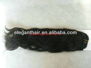 Wholesale natural wave 4A Grade Virgin indian remy hair