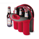 Customized and hot selling neoprene beer can cooler holder promotional neoprene beer bottle cooler 6 pack beer can holder