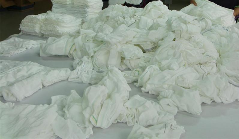 Super Absorbent Polymer Fabric seamless baby print peva plastic pants/adult  plastic pants
