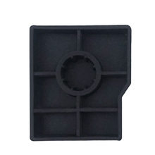 OEM design flame retardant silicone insulator conductive insulated customized silicone parts