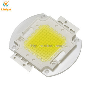 White Emitting Color 5000K 5500K 6000K Bridgelux Chip Ra95-Ra98 High Power COB LED 100W CRI 95