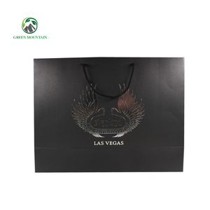 OEM Printed Custom Logo Brand Retail Low Cost Paper Shopping Bags