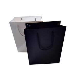 China bags manufacturer custom artwork printed eco friendly paperbags, China supplier low moq paper bag