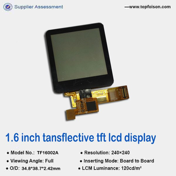low power 1.5 inch tft lcd module with CTP 240*240 smart watch size tft lcd module for medical device