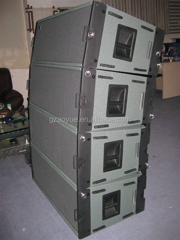 A single 12-inch line array speaker box W8LC