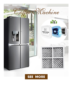 Professionele alkaline vervanging charcoal water filters voor koffie machines