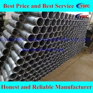 ERW pipe conveyor belt pipe/ roller tube